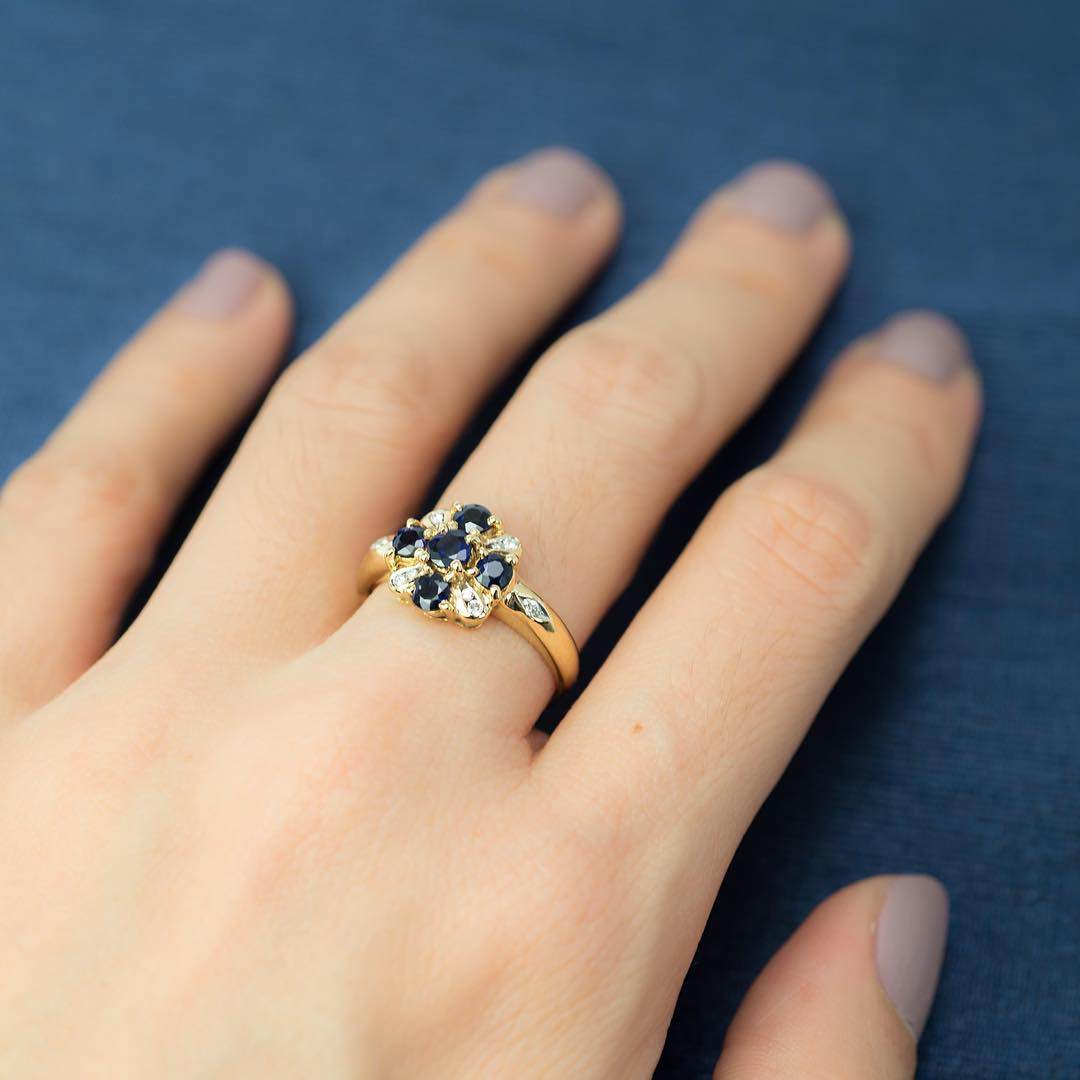 27 Blue Wedding Ring Designs Models Trends Design
