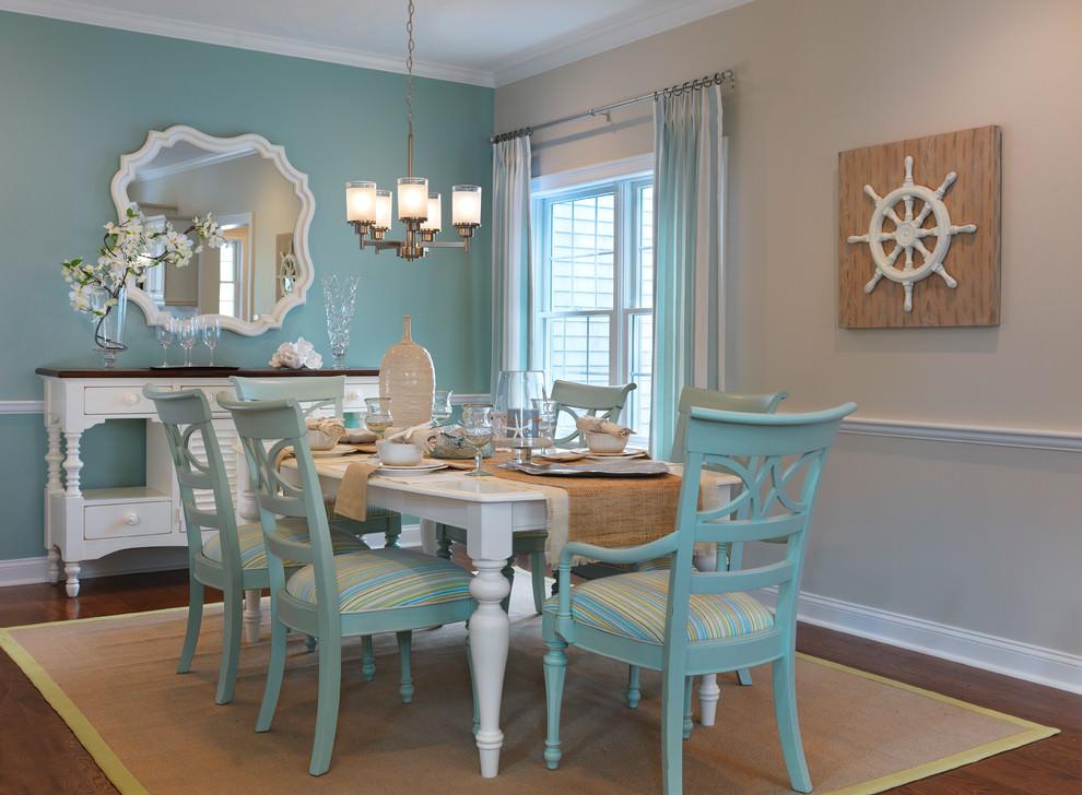 25+ Blue Dining Room Designs, Decorating Ideas
