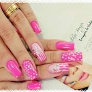 pink nail art design ideas