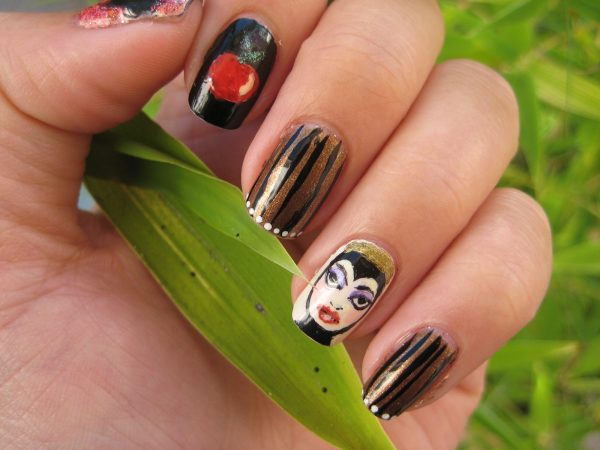 Disney Nail Art Design Ideas Trends - Premium Psd Vector