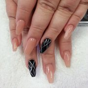 line nail art design ideas