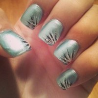 28+ Line Nail Art Designs, Ideas