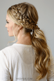 french braid hairstyles design