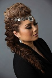 french braid hairstyles design
