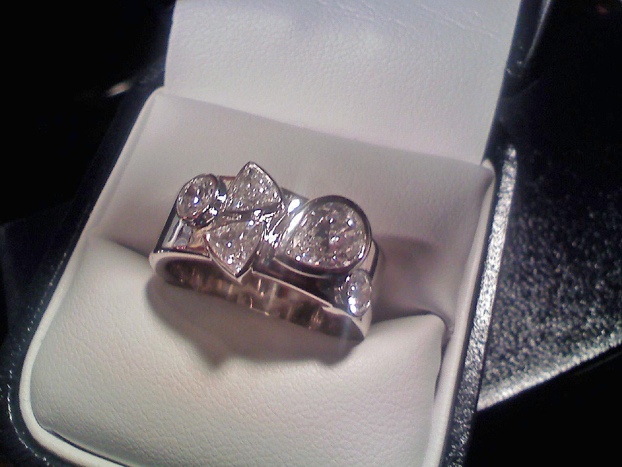 30 Pear Shaped Diamond Ring Designs Trends Models  Design Trends  Premium PSD Vector Downloads