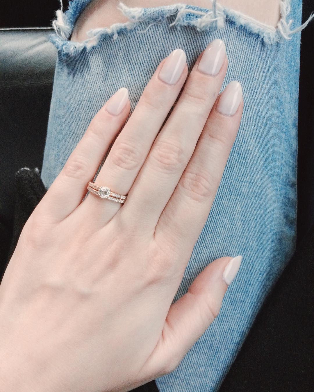 Oval Nails Long