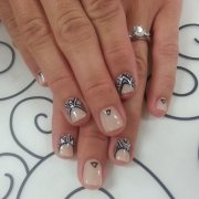tribal nail art design ideas