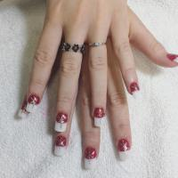 20+ White Tip Nail Art Designs, Ideas | Design Trends ...