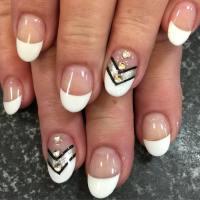 20+ White Tip Nail Art Designs, Ideas | Design Trends ...