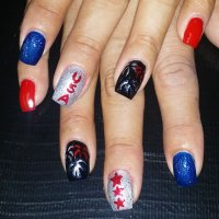 31+ Patriotic Nail Art Designs, Ideas | Design Trends ...
