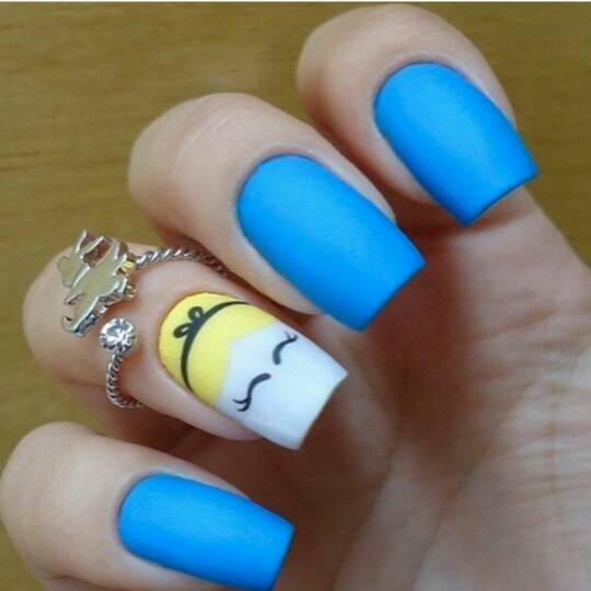 26+ Disney Nail Art Designs, Ideas