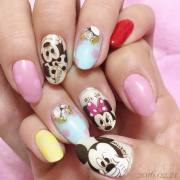 disney nail art design ideas