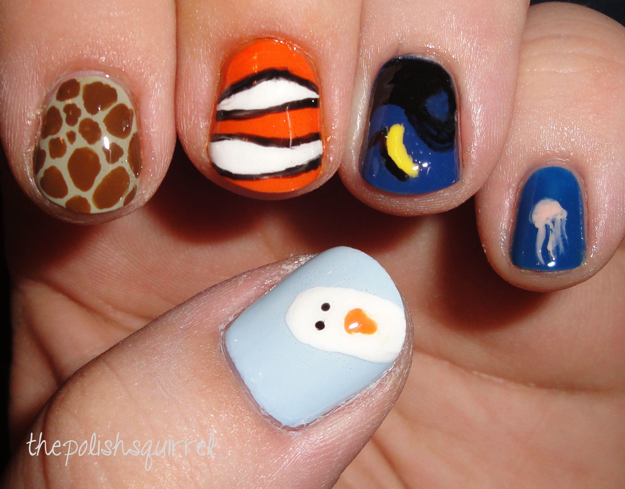 26 Disney Nail Art Designs Ideas Design Trends