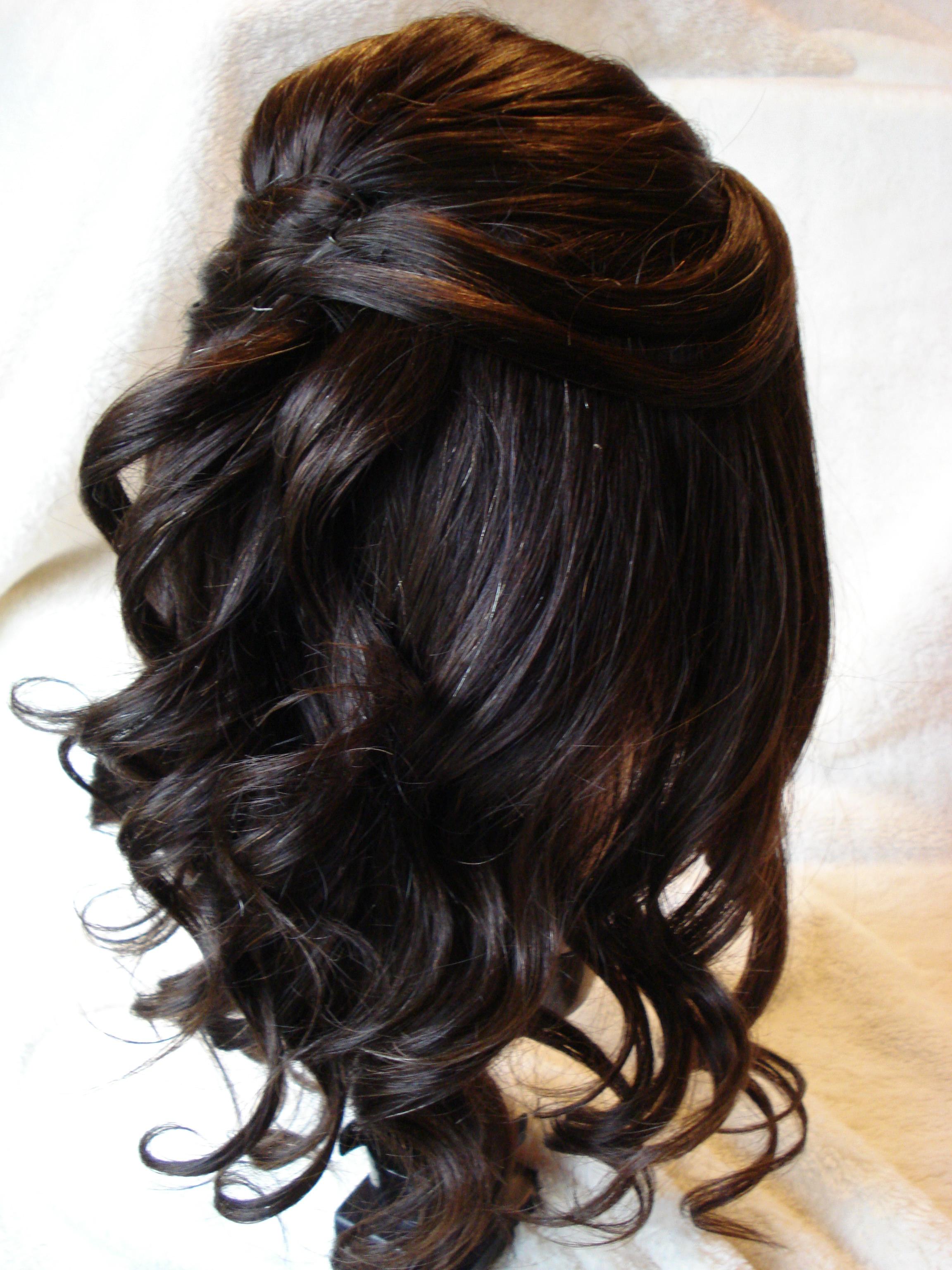 30 HalfupHalf down Wedding Hair Style  Hairstyles  Design Trends  Premium PSD Vector