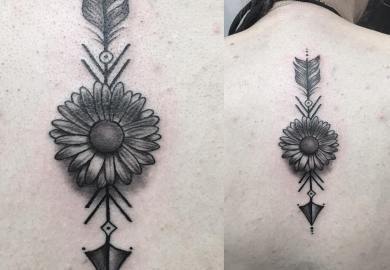 Tattoo Daisy Designs