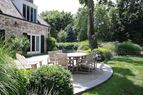 simple patio design decorating