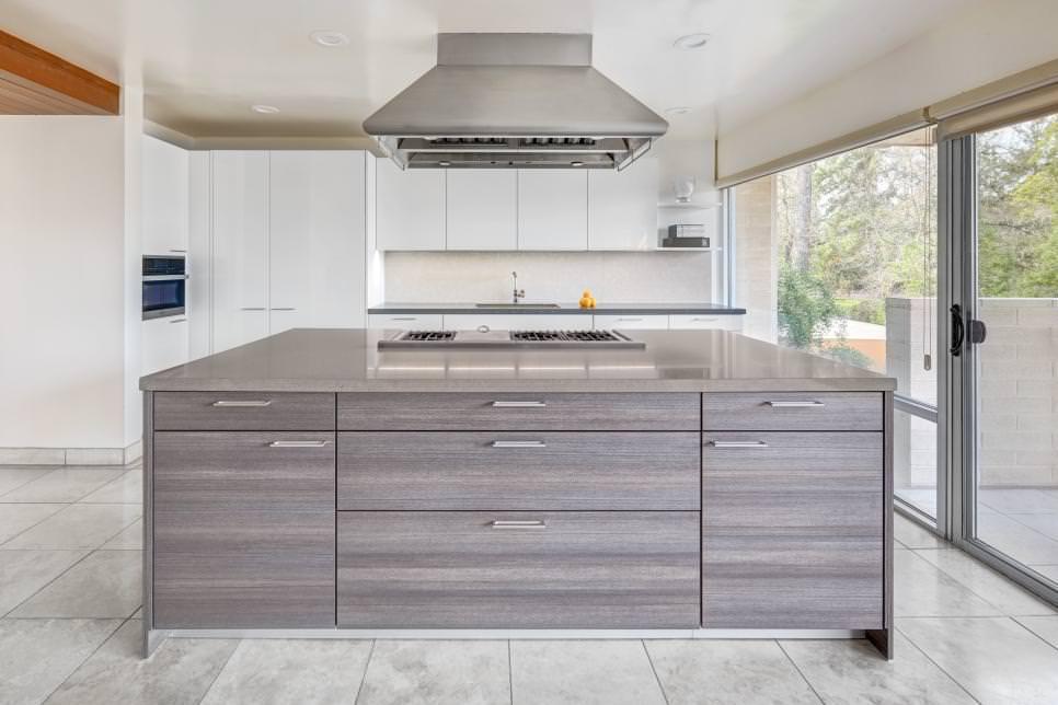 large kitchen island undermount sinks 24 designs decorating ideas design trends ultra modern