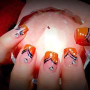 fall nail art design idea