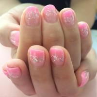 25+ Light Pink Nail Art Designs, Ideas | Design Trends ...