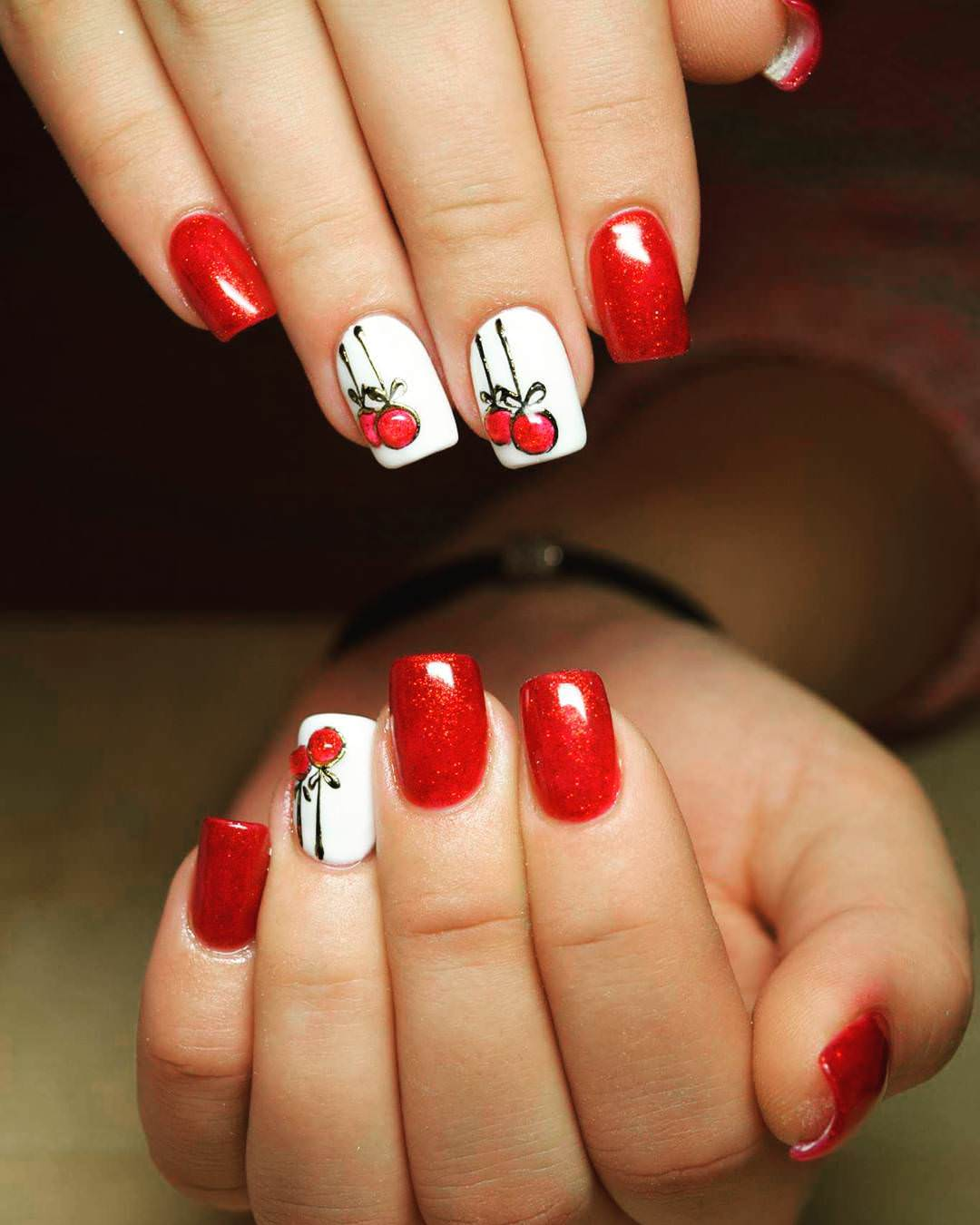 29 Red Acrylic Nail Art Designs  Ideas  Design Trends  Premium PSD Vector Downloads