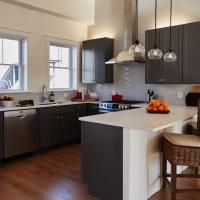22+ Grey Kitchen Cabinets Designs, Decorating Ideas ...