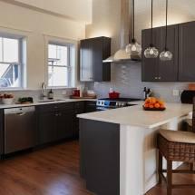 Grey Kitchen Cabinets Design Decorating Ideas