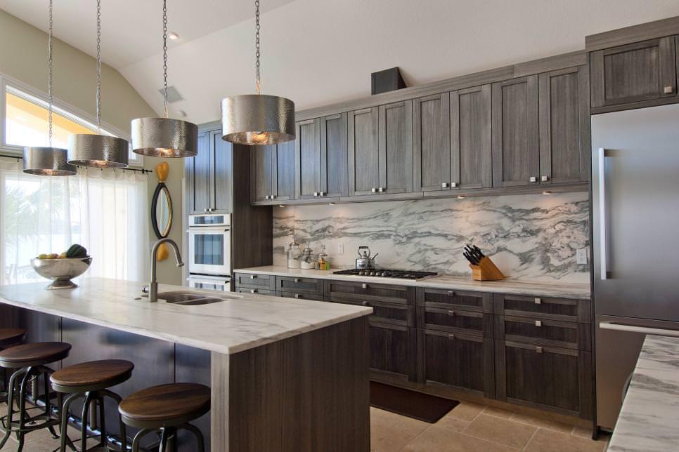 24 Grey Kitchen Cabinets Designs Decorating Ideas