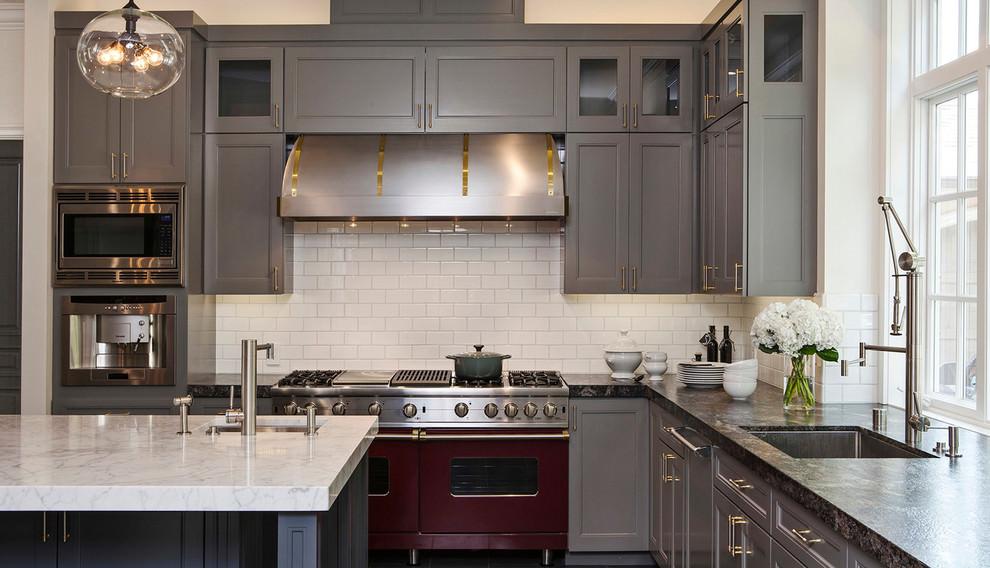 Wide Galley Kitchen Designs