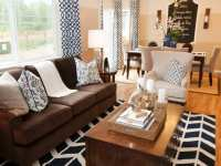 23+ Brown Living Room Designs, Decorating Ideas | Design ...