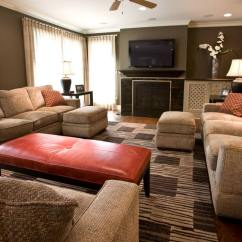 Navy Blue And Chocolate Brown Living Room Designing Your 23+ Designs, Decorating Ideas | Design ...