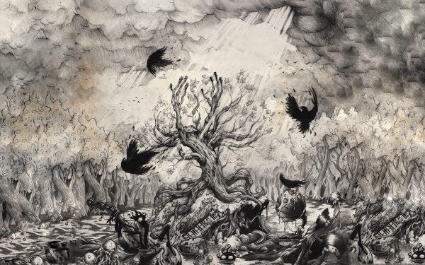 Beautiful Dark Creepy Drawings