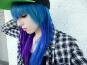 beautiful emo hairstyles