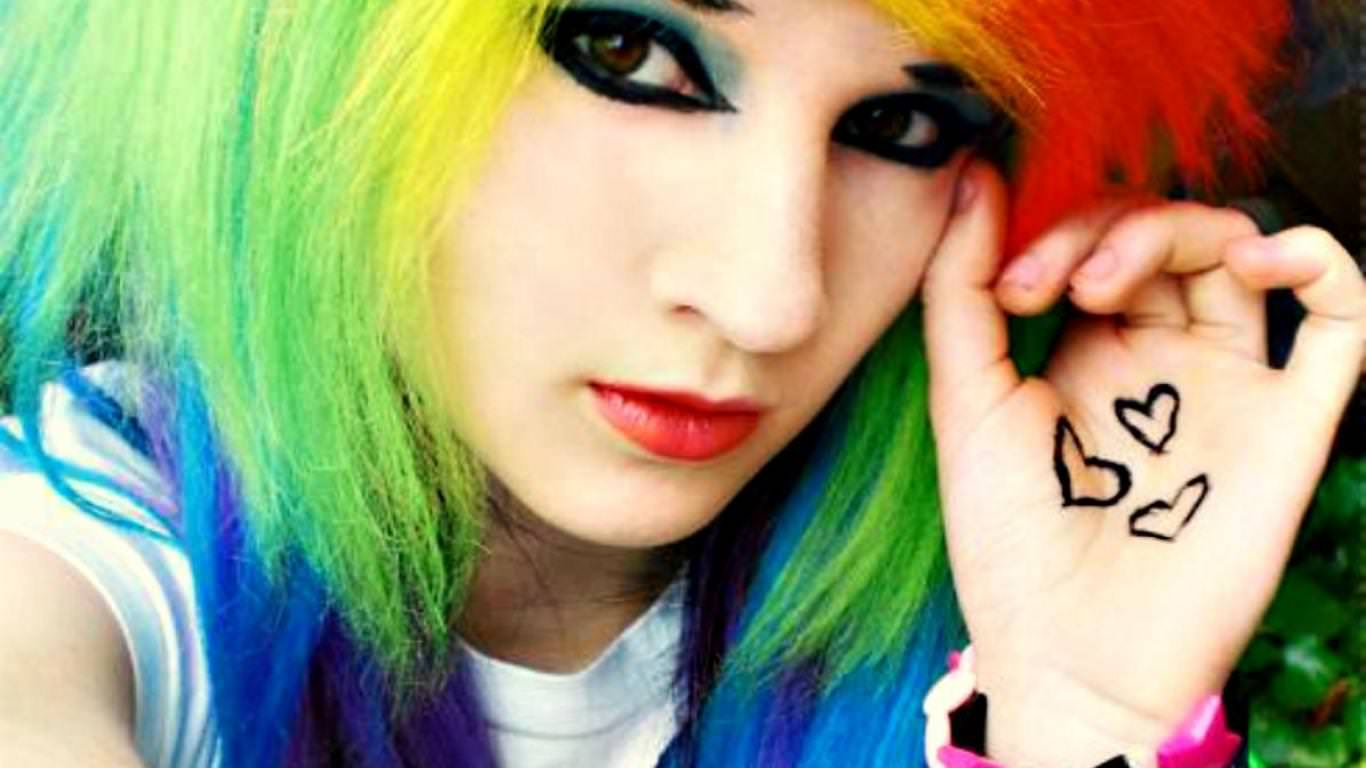 Cute Stylish Girl Wallpaper 25 Beautiful Emo Hairstyles For Girls Design Trends