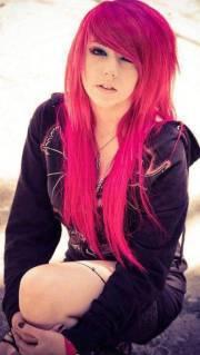 beautiful emo hairstyles