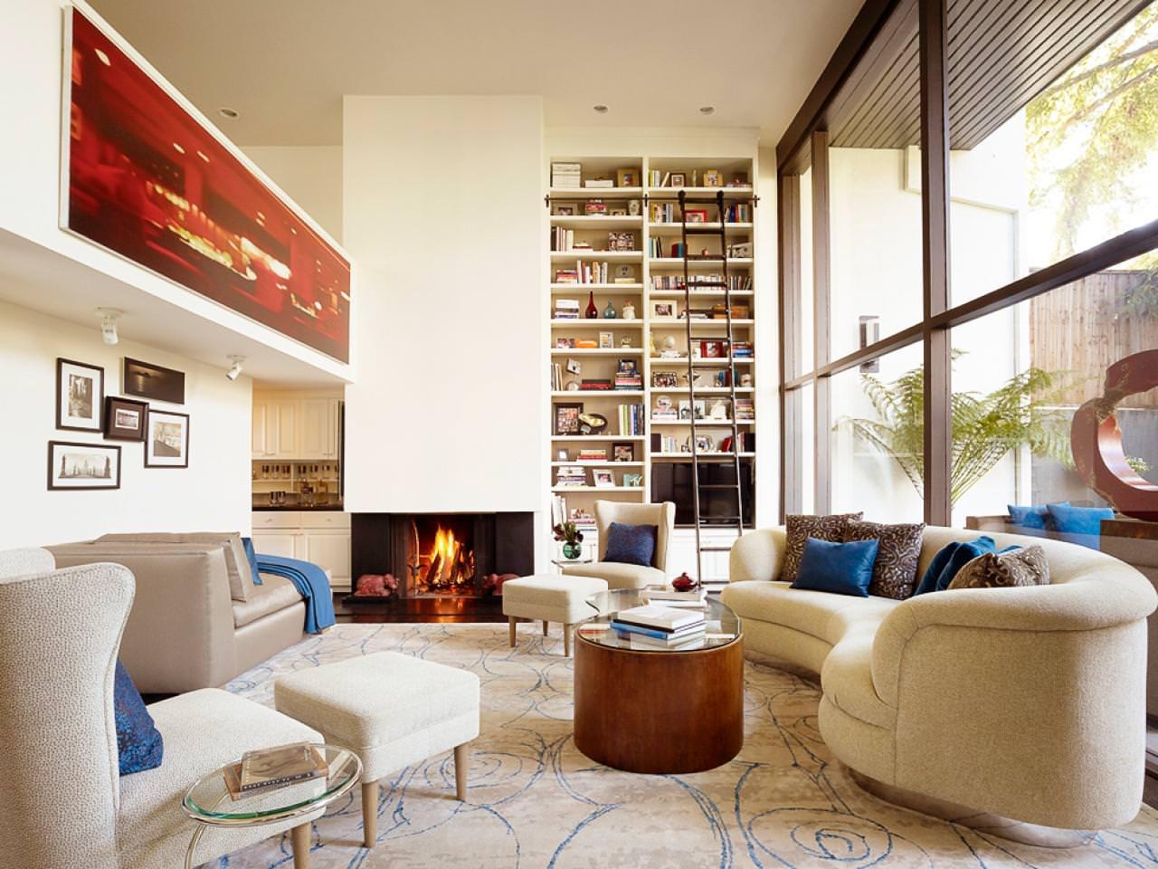 23+ Square Living Room Designs, Decorating Ideas