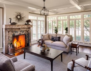 Living Room With Fireplace Decorating Ideas