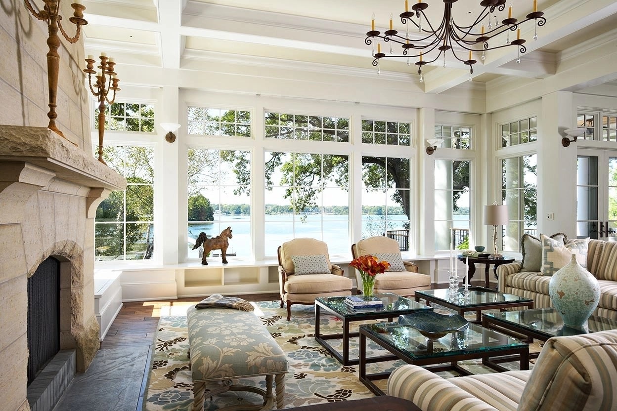 lake house living room ideas gray wall paint 15 window designs decorating design trends