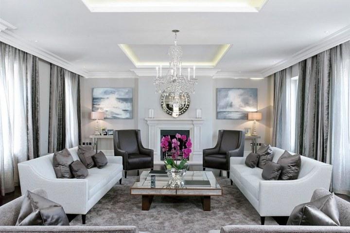 23 Square Living Room Designs Decorating Ideas Design Trends