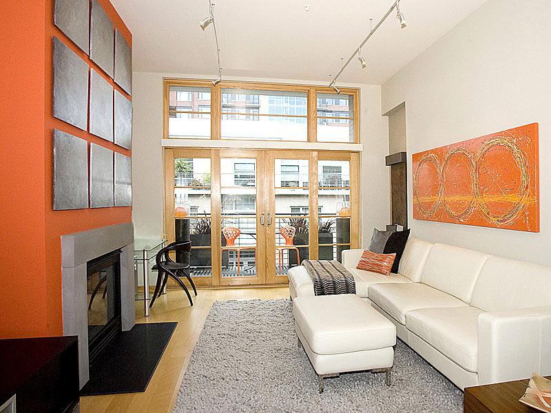 apt size sectional sofas baxton studio dark grey linen sofa bed 23+ narrow living room designs, decorating ideas | design ...