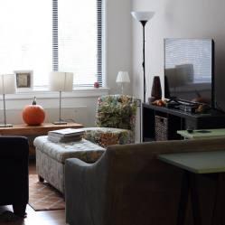 narrow room living designs chic decorating interior looking