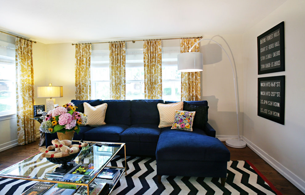 20 Blue And Brown Living Room Designs Decorating Ideas Design Part 97