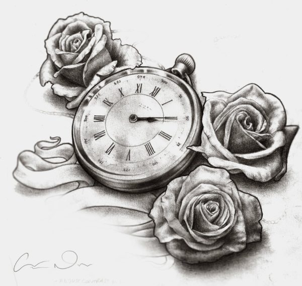 Attractive Rose Drawings Design Trends