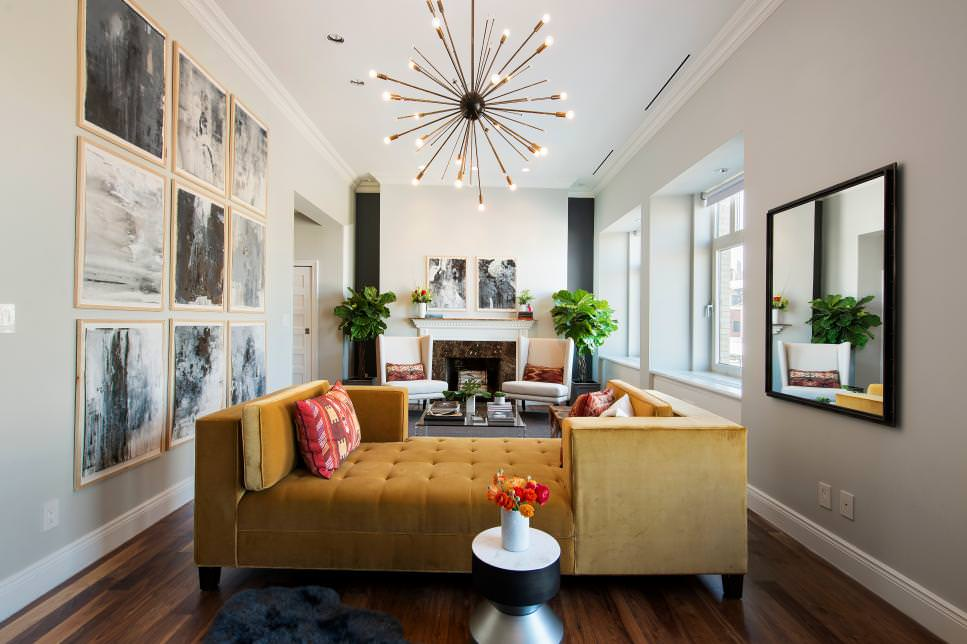mid century modern sofa designs best sectional apartment therapy 21+ narrow living room designs, decorating ideas | design ...