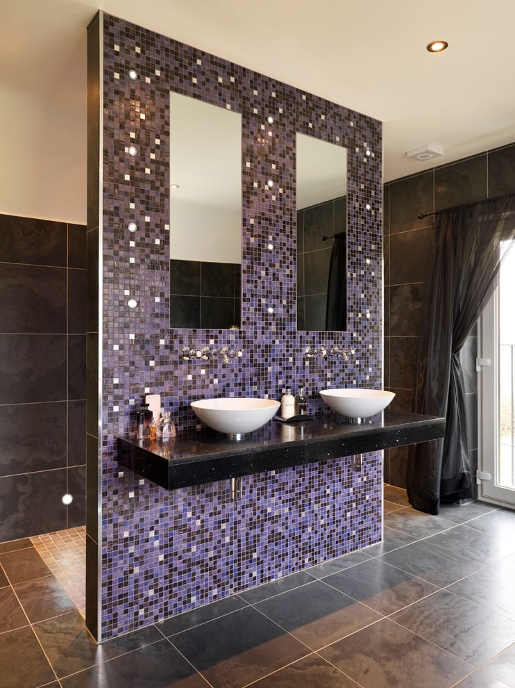 23 Purple Bathroom Designs Decorating Ideas  Design Trends  Premium PSD Vector Downloads