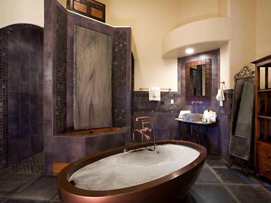 23+ Purple Bathroom Designs, Decorating Ideas | Design ...