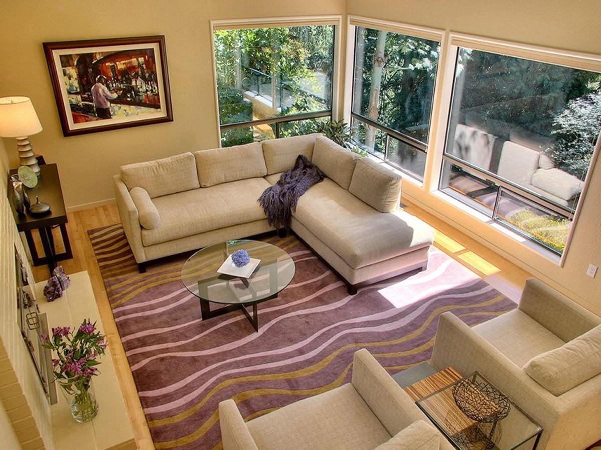 sofa rug arrangement jennifer beds in leathers 13 43 living room carpet designs decorating ideas design