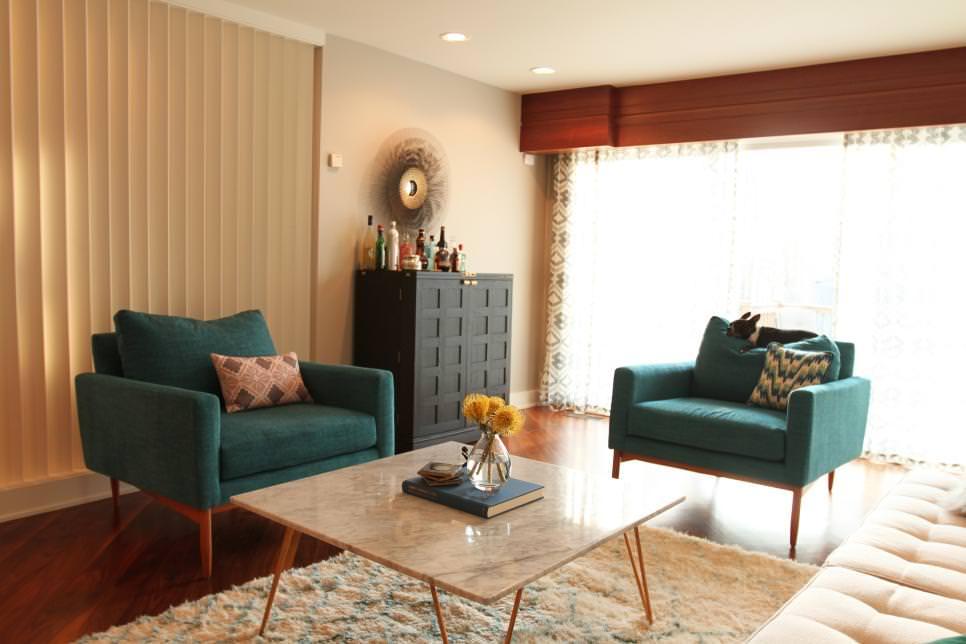 mid century modern sofa designs best sleeper new york 22+ teal living room designs, decorating ideas | design ...