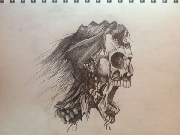 Skull Drawings Art Ideas Design Trends - Premium