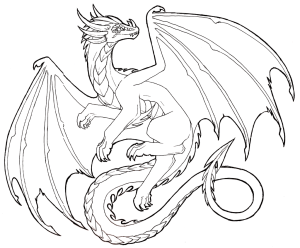 dragon drawings drawing flying realistic sketch sketches lineart line cool easy pencil tattoo awesome coloring cliparts dark bing deviantart outline
