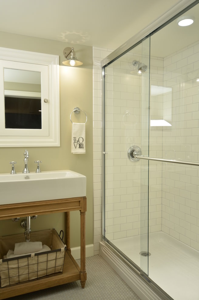 tiled living room tall units 24+ basement bathroom designs, decorating ideas | design ...